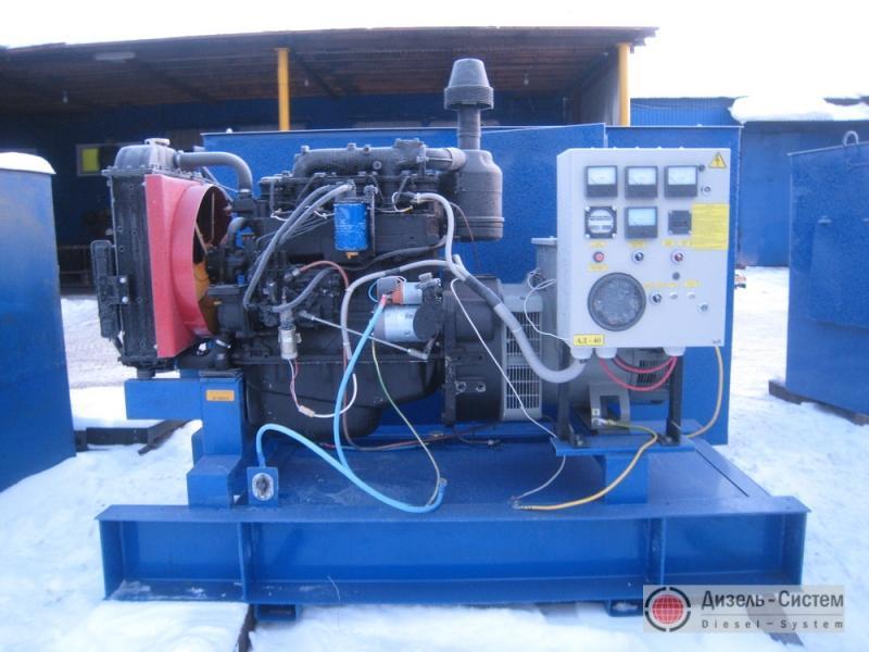Фото и обозначение электрогенератора АД-40С-Т400-Р