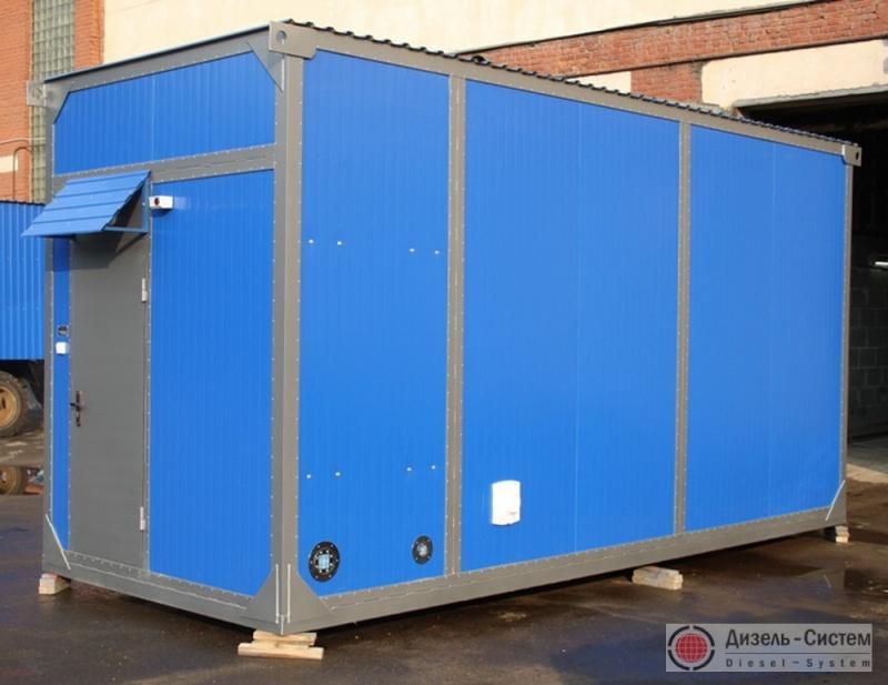 ЭД300-Т400-2РН-Ш (ЭД300-Т400-2РК-Ш) генератор 300 кВт в шумозащитном утеплённом контейнере