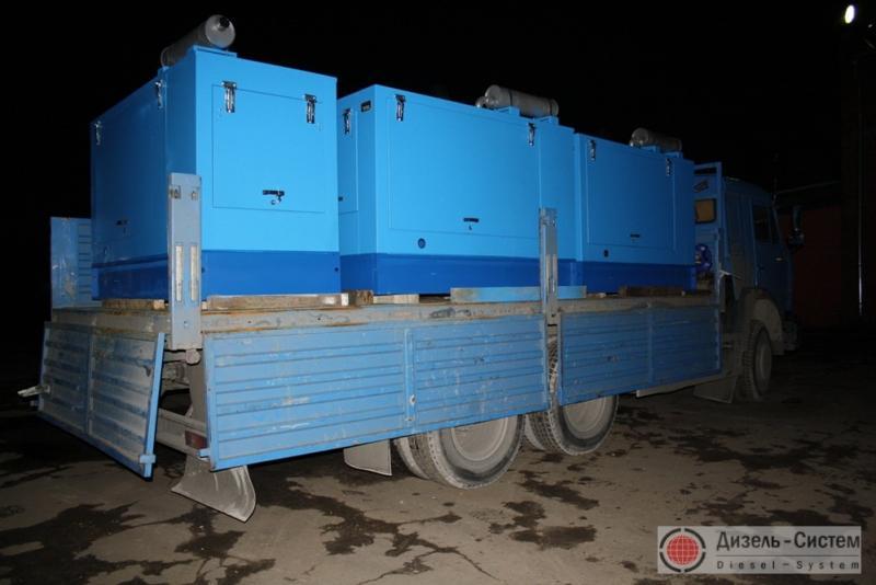 Фото дизель-генераторного агрегата ДГА-40 в капоте