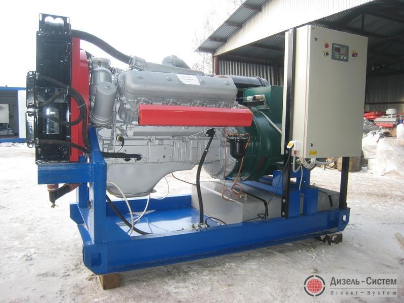 фото генератора 150 кВт LSA 46.2 M5 Leroy Somer открытого типа
