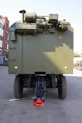 генератор в кунге КП-2