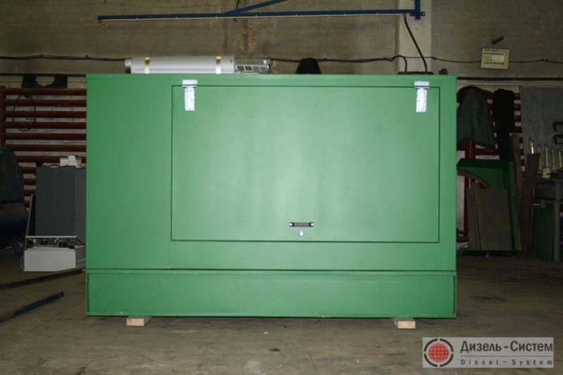 Фото дизель-генераторной установки ДГУ-300 в капоте