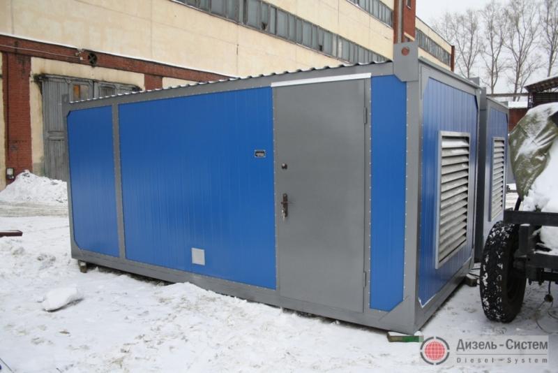 АД-315С-Т400-2РГТН (АД-315-Т400-2РГТН) генератор 315 кВт в утеплённом блок-контейнере