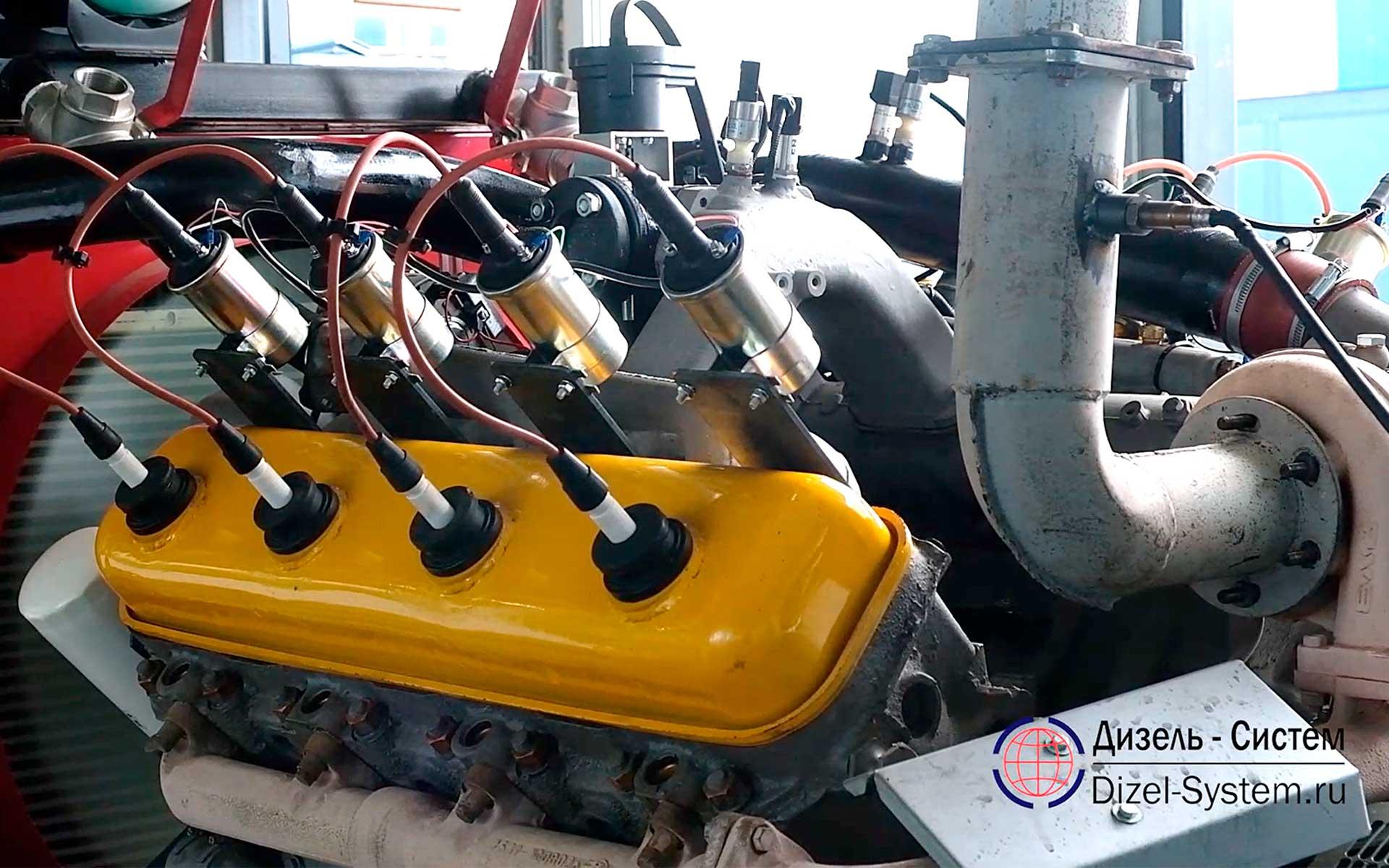 газовая генераторная установка 120 квт ЯМЗ-238