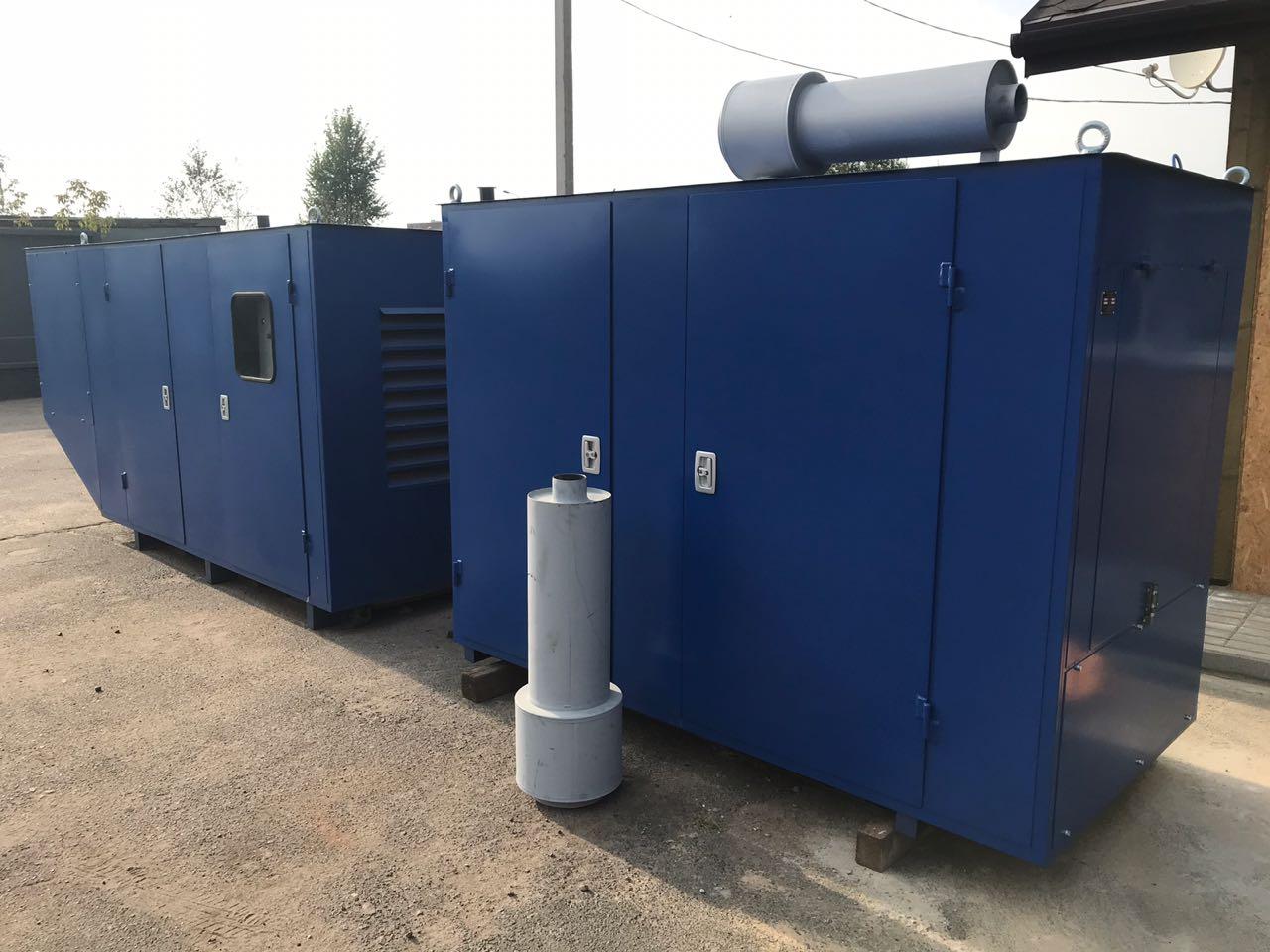 Газовый генератор 60 кВт в кожухе