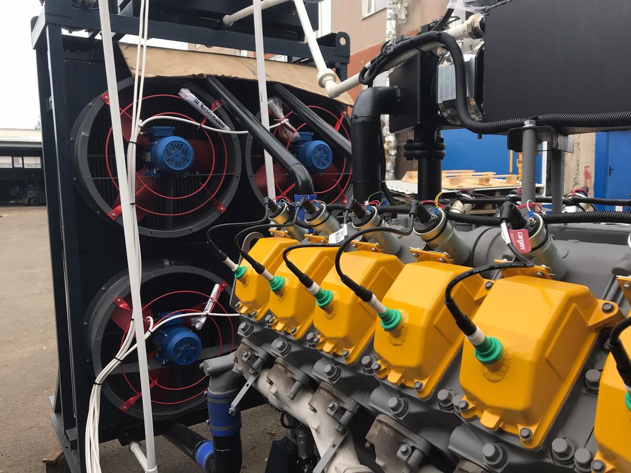 ГПУ 1200 кВт двигатель ЯМЗ-8503