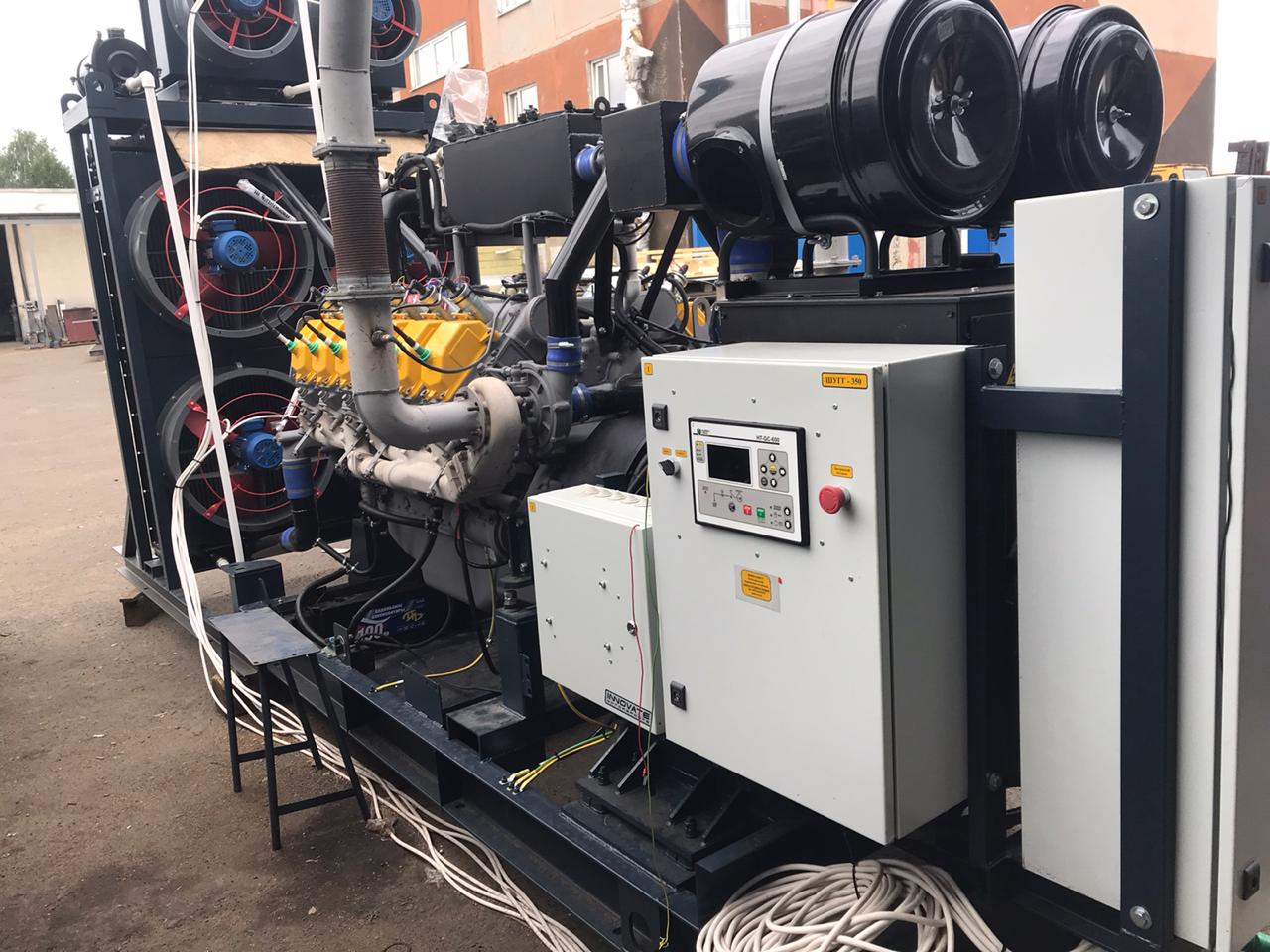 ГПУ 2500 кВт двигатель ЯМЗ-8503
