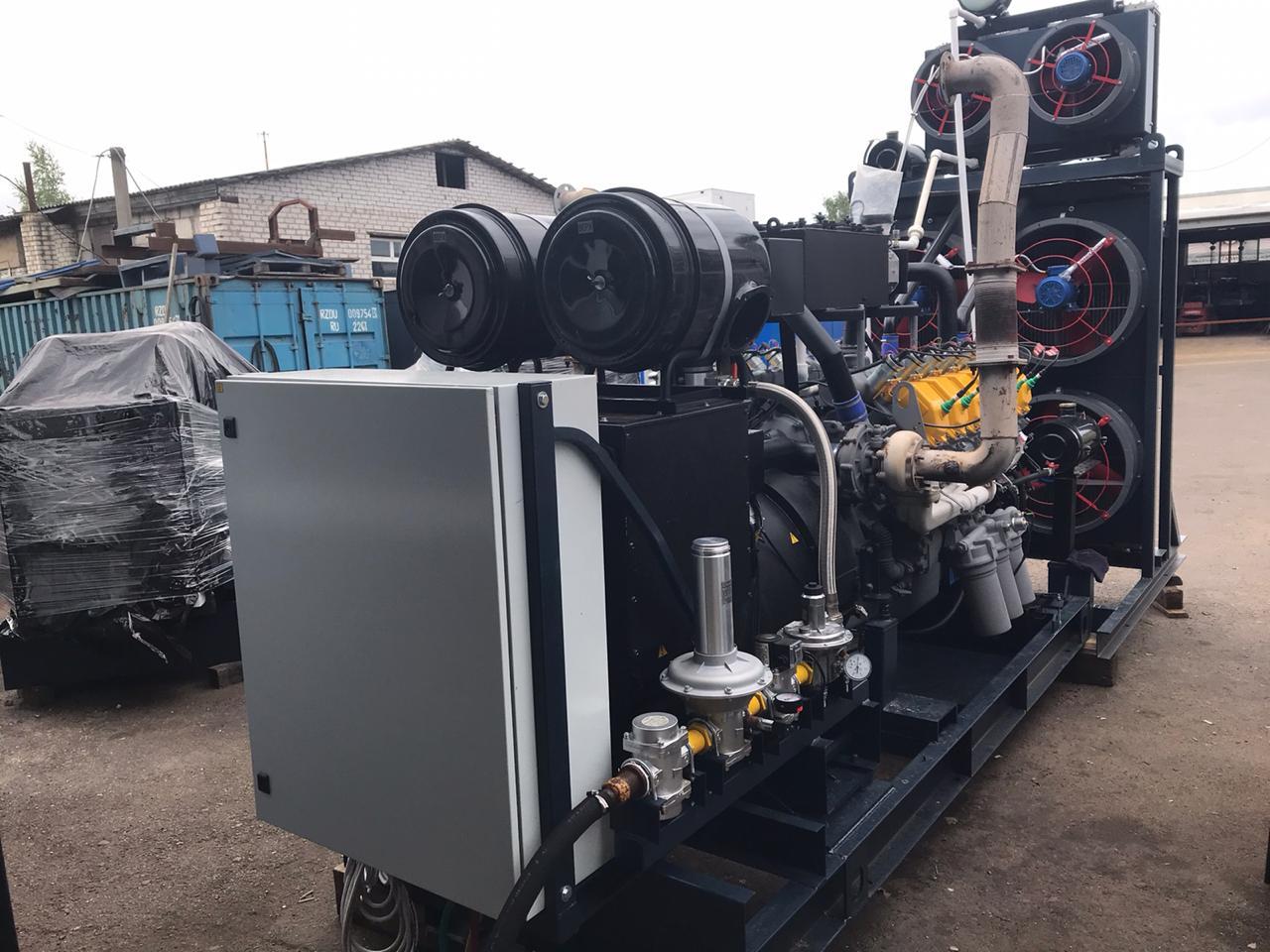 газогенераторная установка 1000 квт