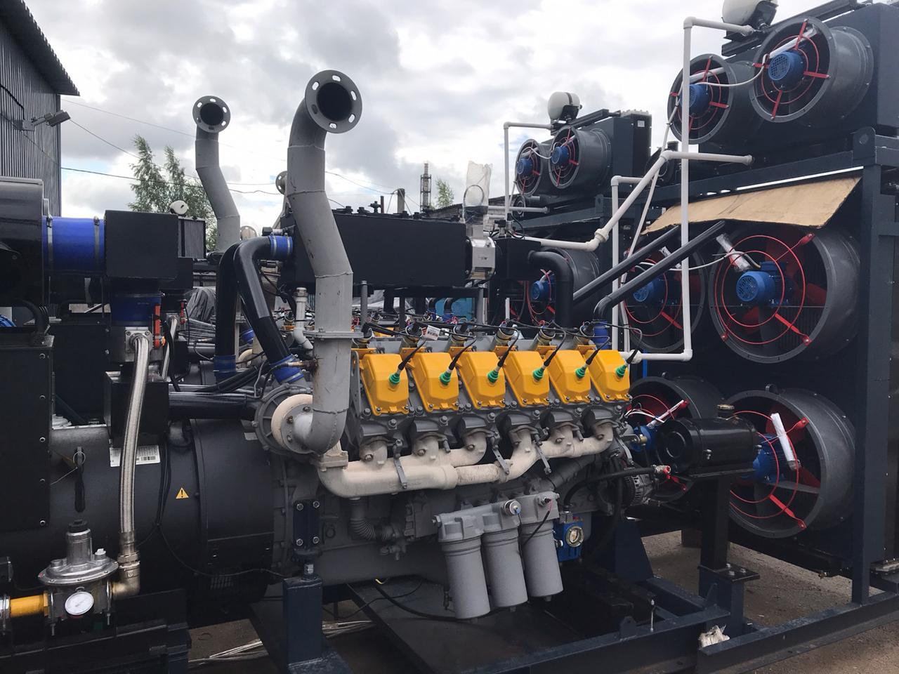 газовая генераторная установка 900 квт