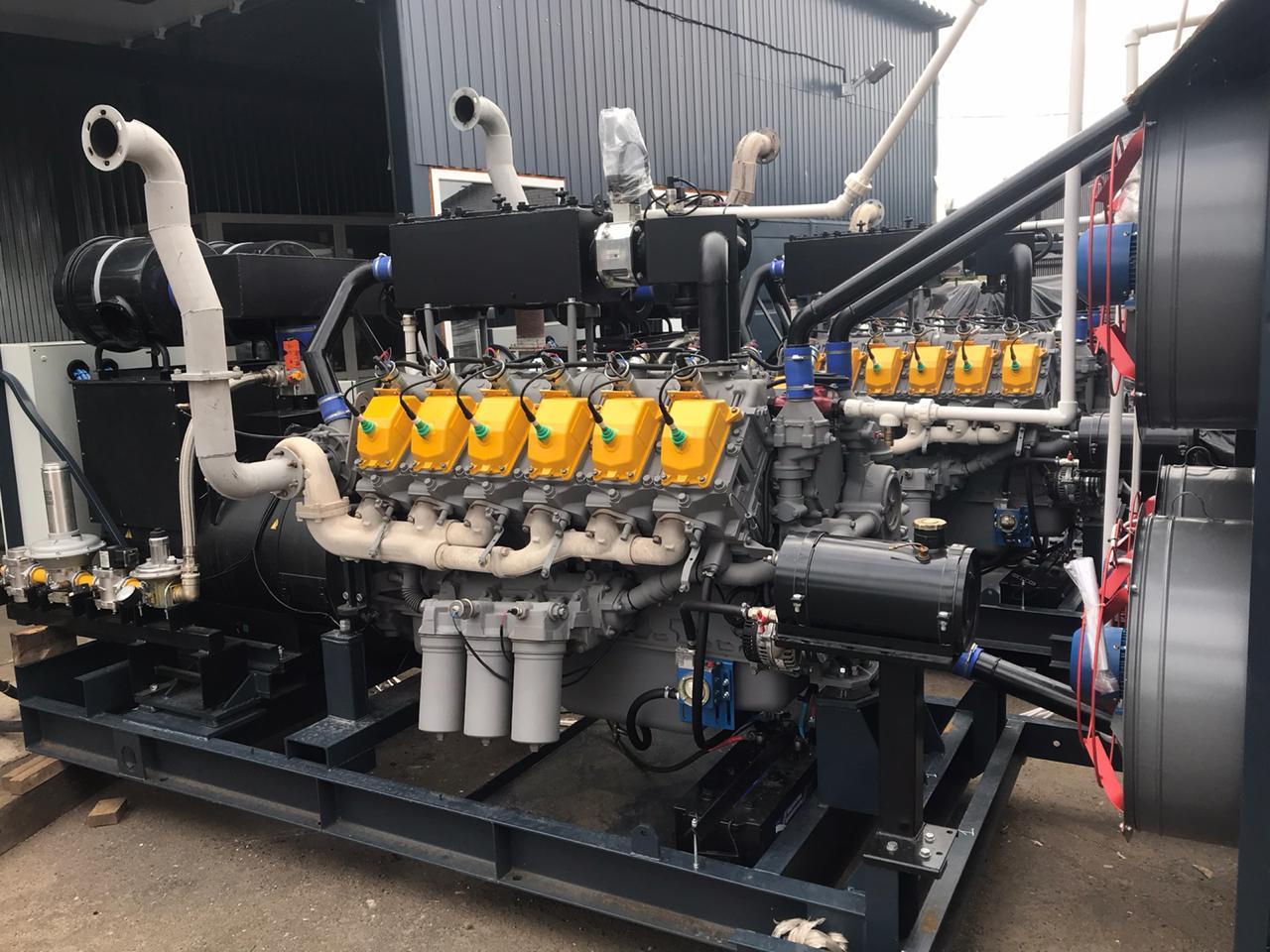 Газовый генератор АГП-1200 (ГПЭС-1200) с двигателем ЯМЗ-8503