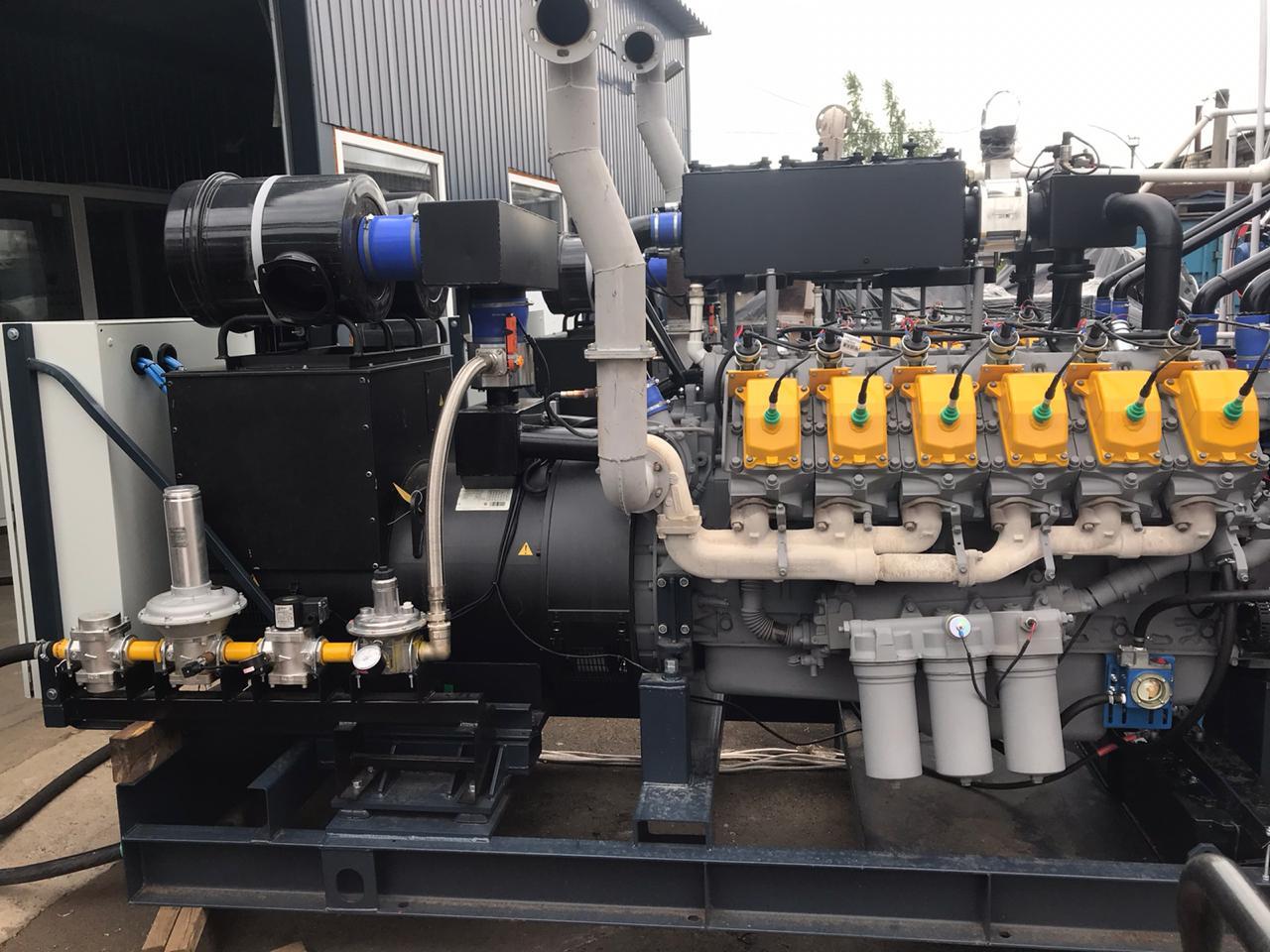 Газогенераторная установка 650 кВт на ЯМЗ-8503