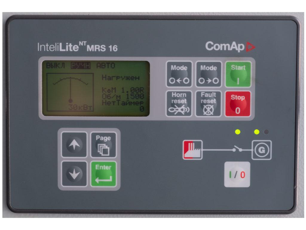 Газовый генератор ГПУ-60 ЯМЗ (контроллер ComAp)