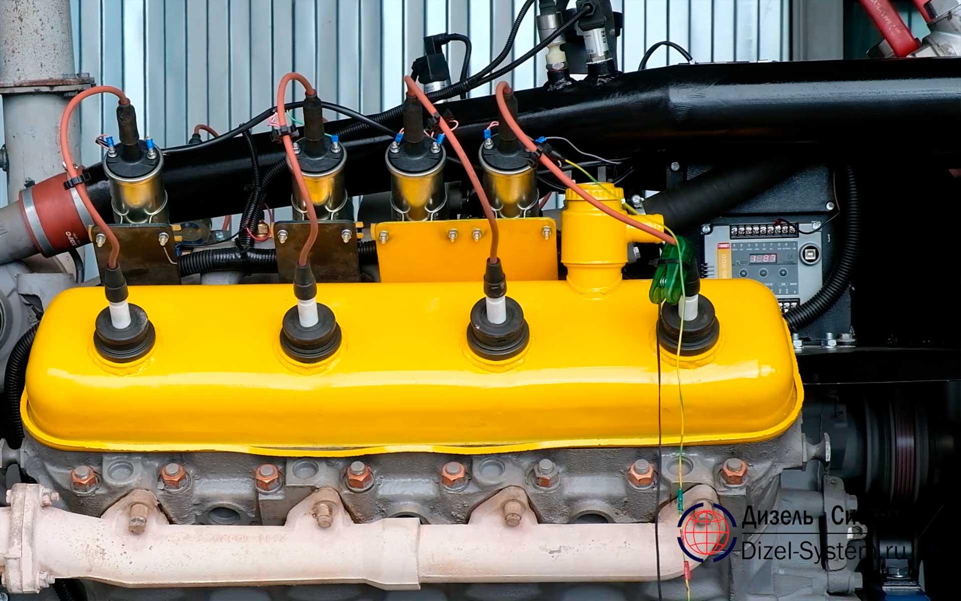 Газопоршневая электростанция АГ-200 ЯМЗ-7514