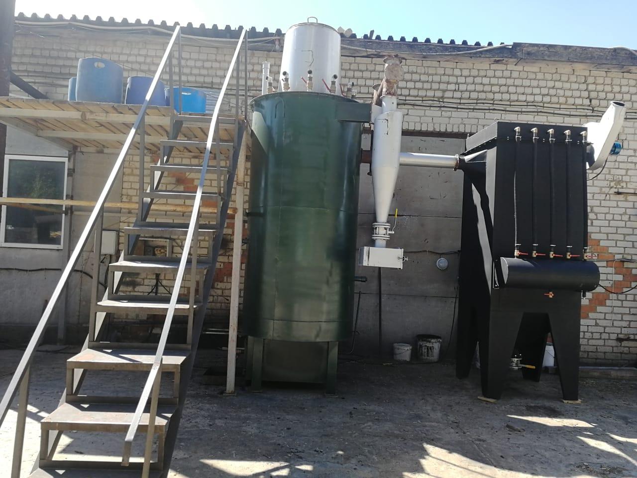 Газогенератор 120 кВт на биотопливе