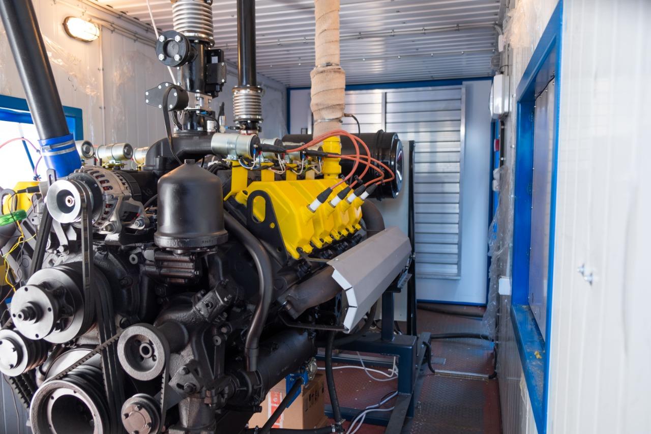 Газоэлектростанция ГПЭС-2000 контейнерного типа с двигателем ЯМЗ-8503