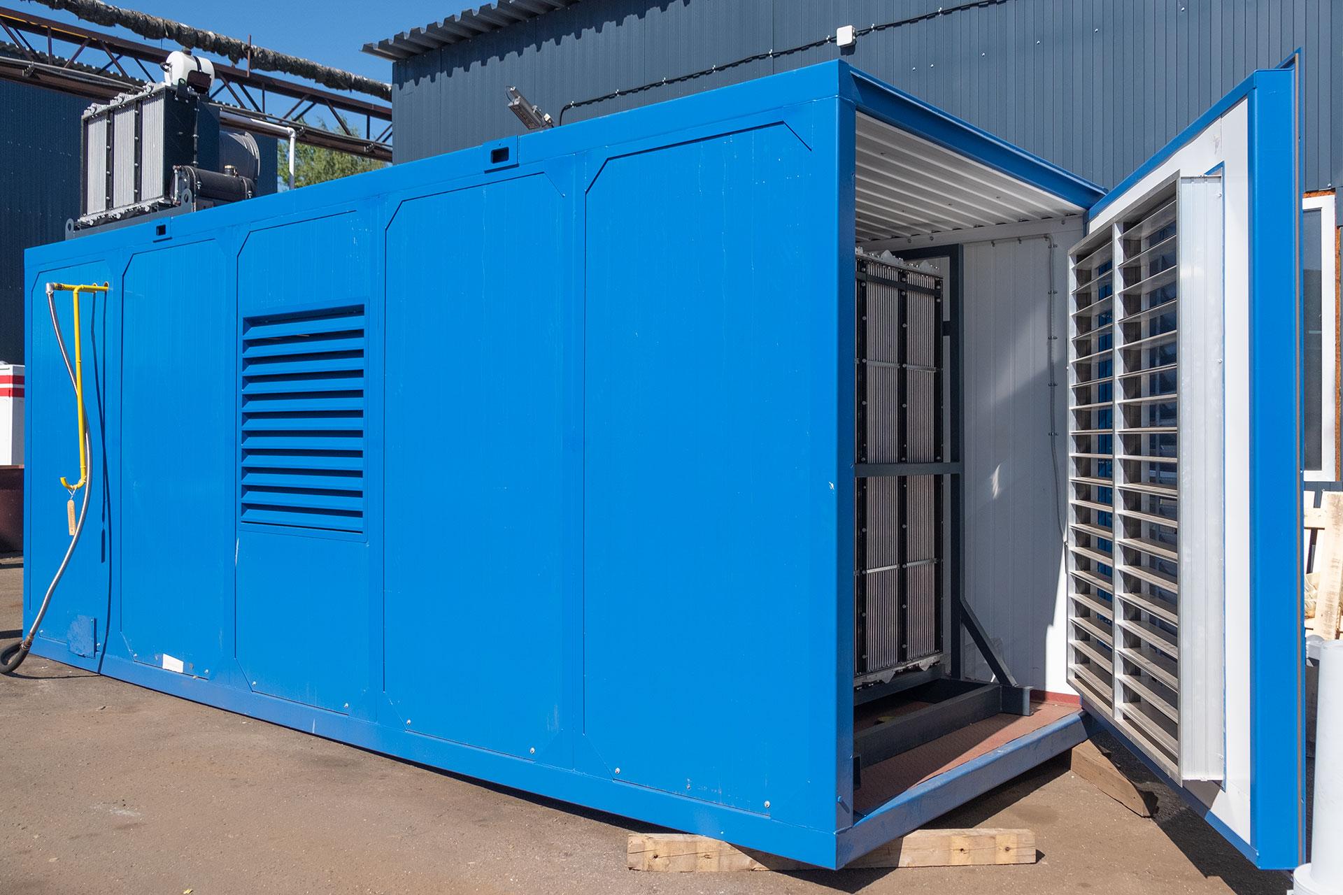 газовая электростанция 2000 квт, гпэс-2000
