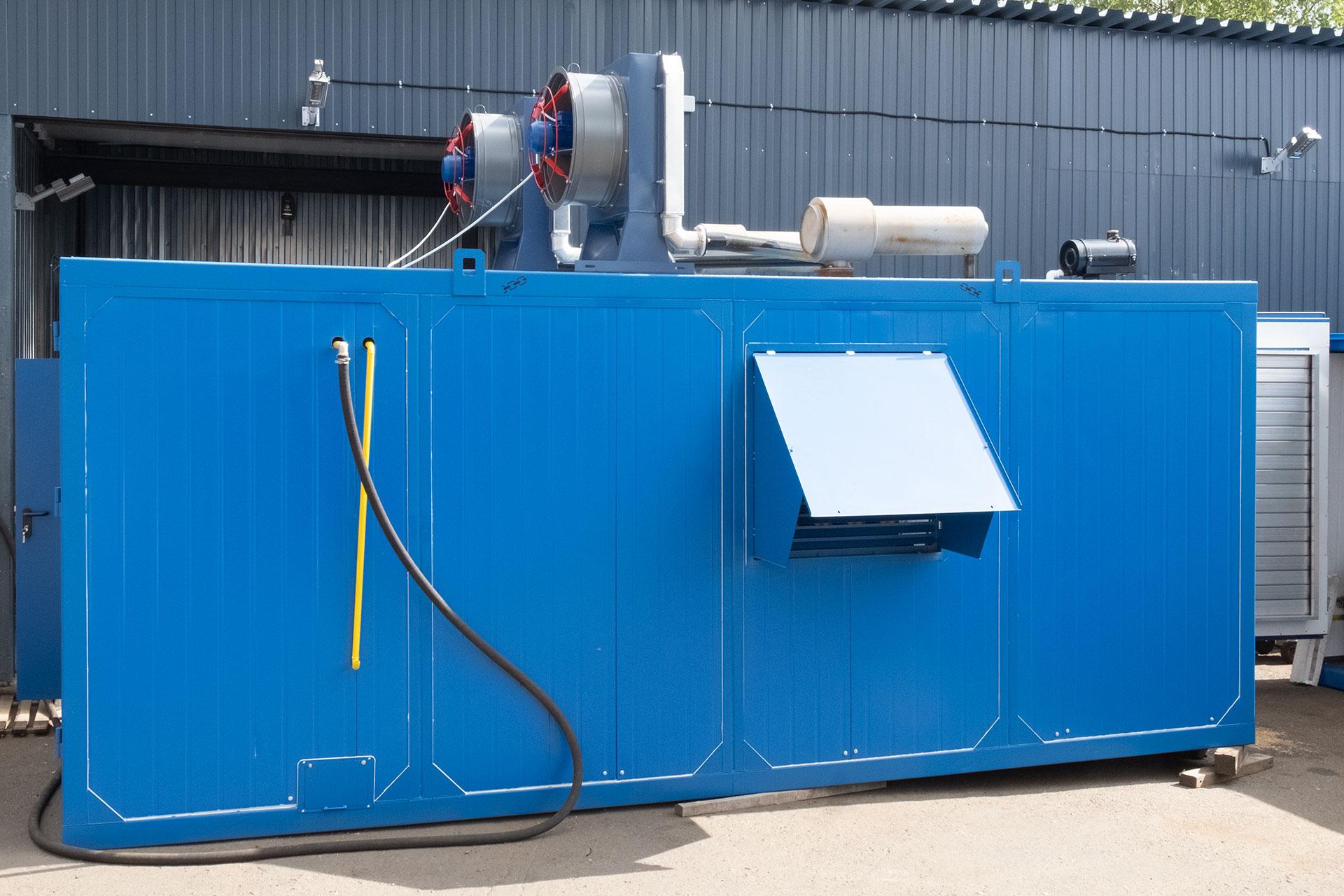 Газогенераторная установка 2000 кВт ЯМЗ