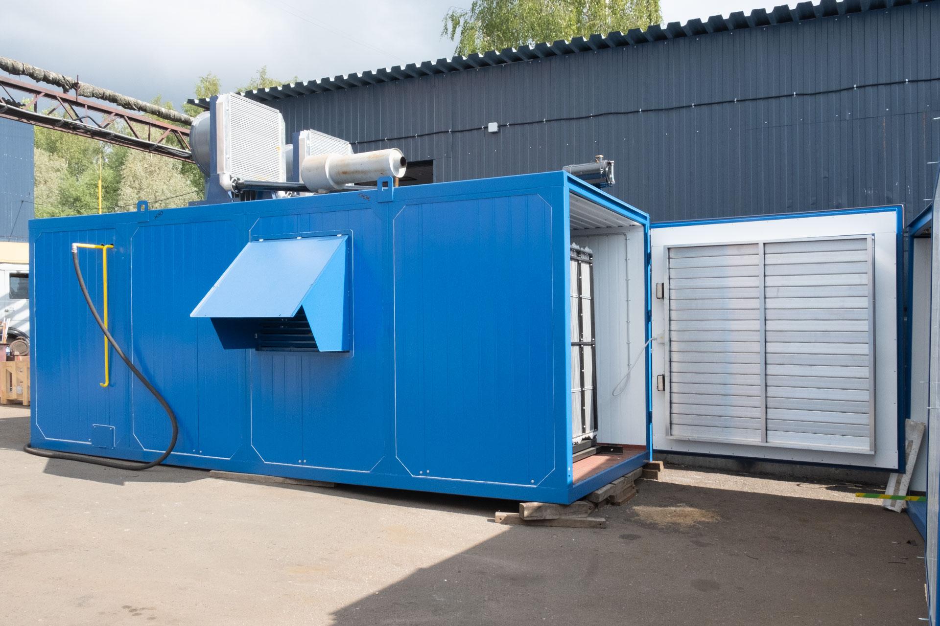 Блочно-контейнерные газопоршневые электростанции 2000 кВт, ГПУ-2000, АГП-2000, ЭГП-2000, ГПЭС-2000, АГ-2000, БКГПЭА-2000