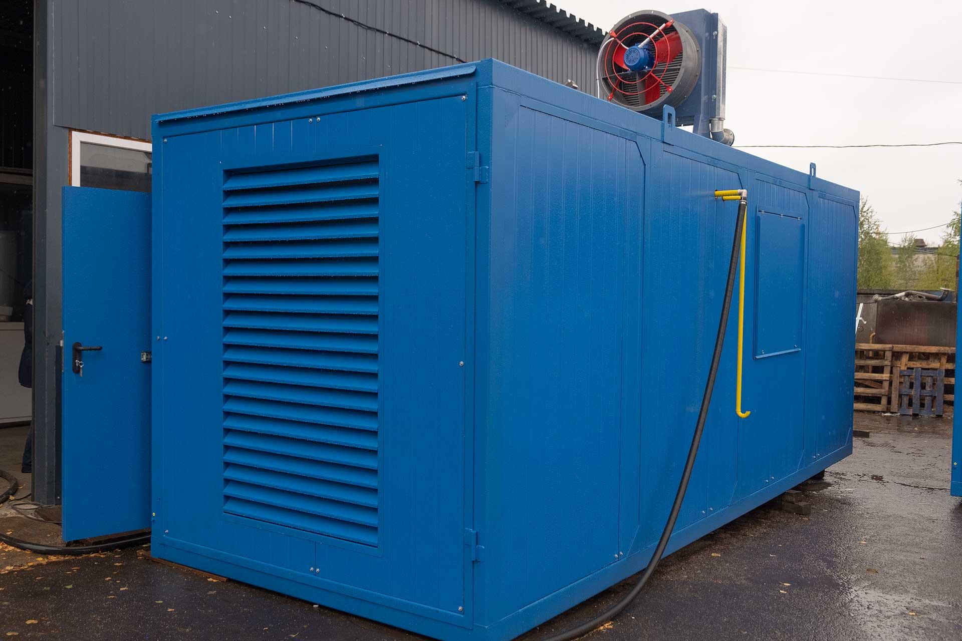Газовая электростанция 80 кВт в контейнере