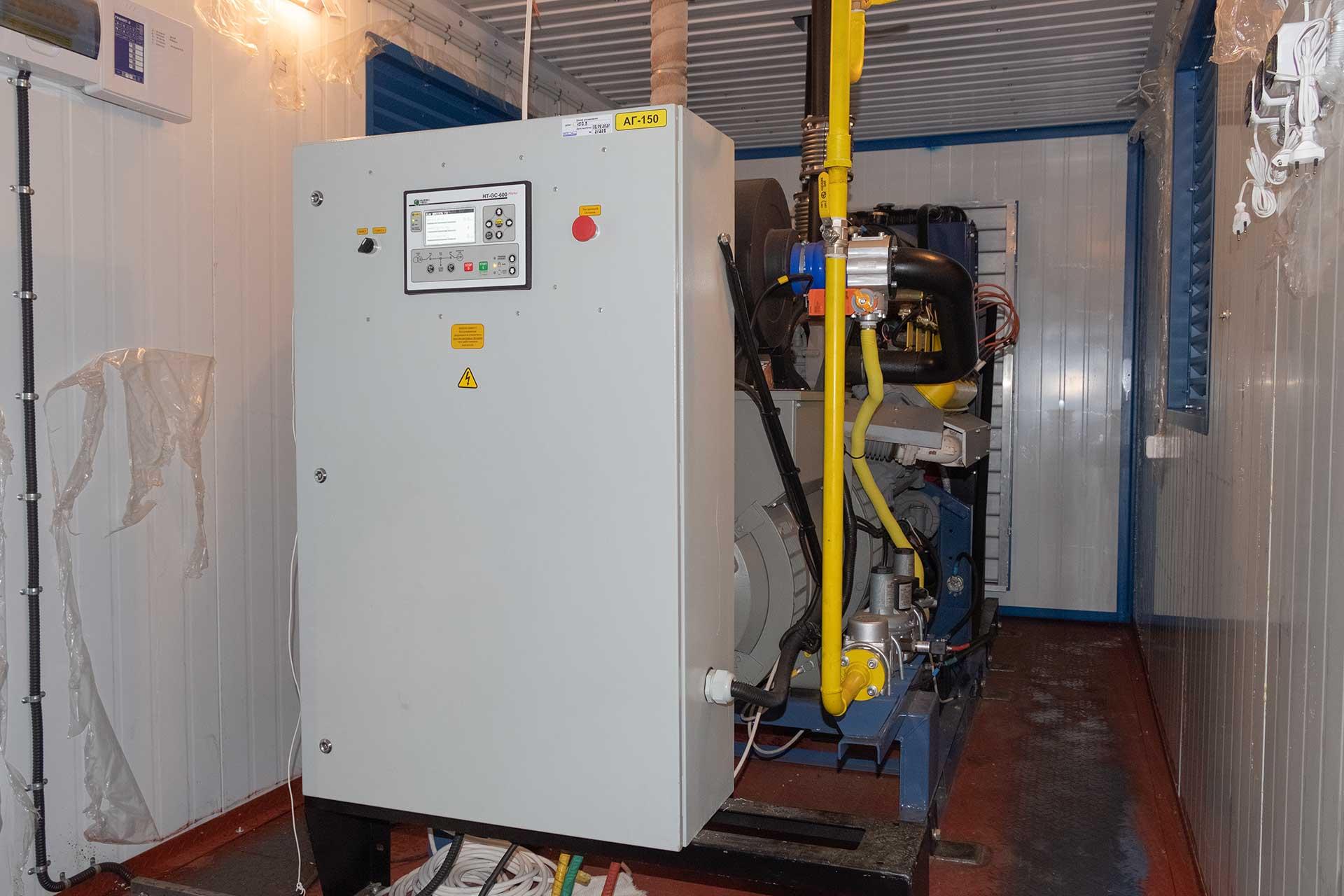 газовая электростанция 60 квт, гпэс-60