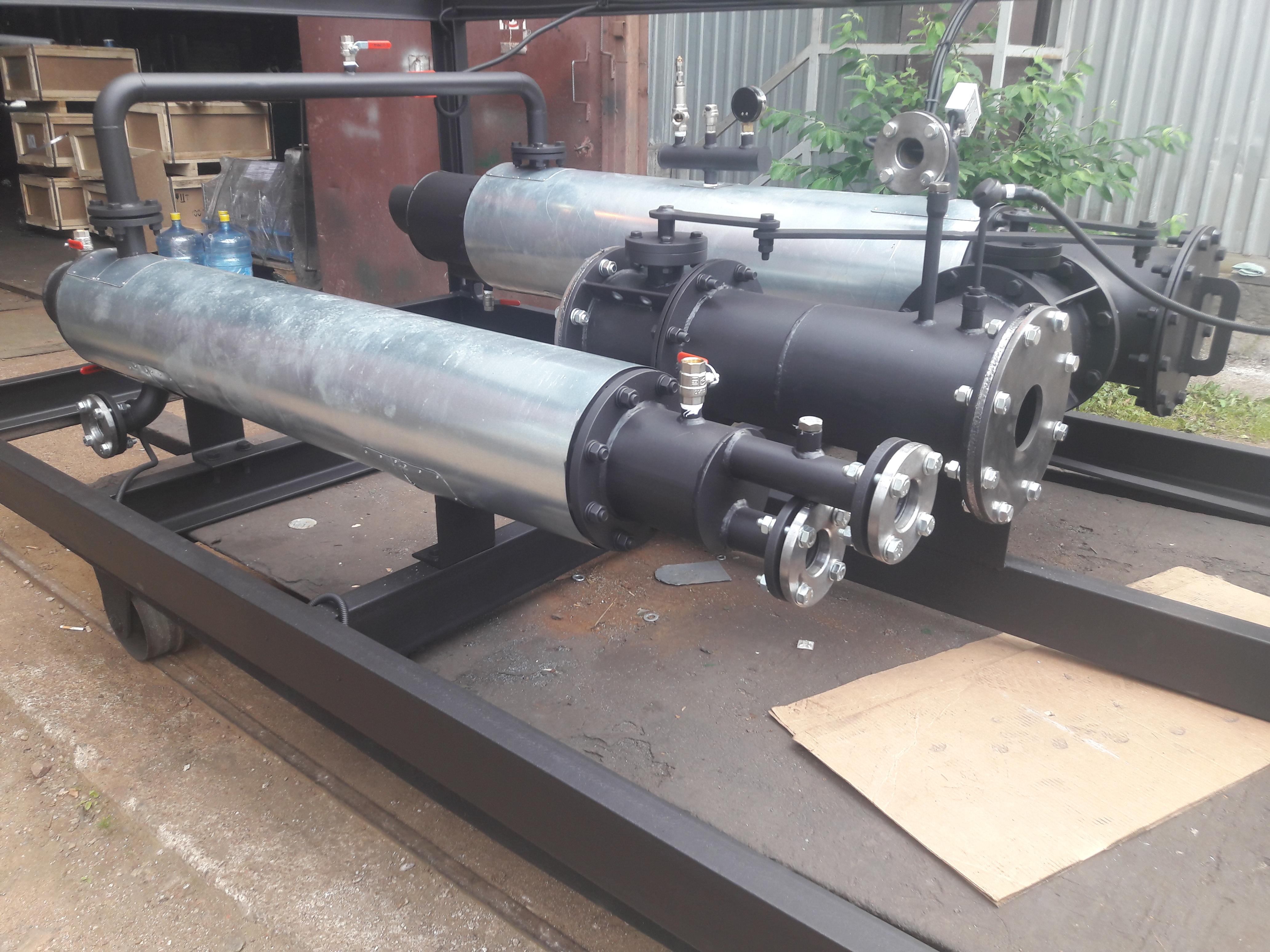 Утилизация тепла ГПЭС-100