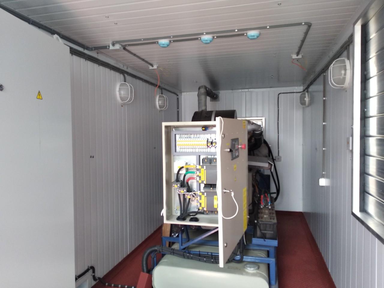 Газопоршневая электростанция ЭГП-100 БКИ (ЯМЗ-238) в блок-боксе