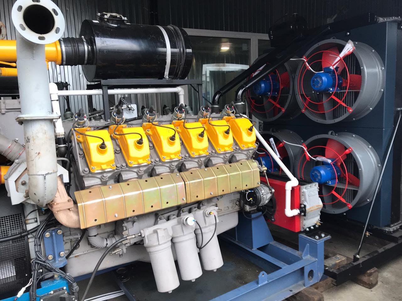 газогенераторная установка 315 квт