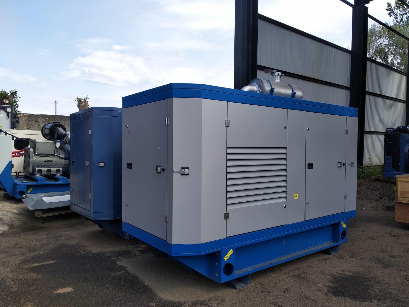 Дизельная электростанция 160 кВт в погодозащитном кожухе