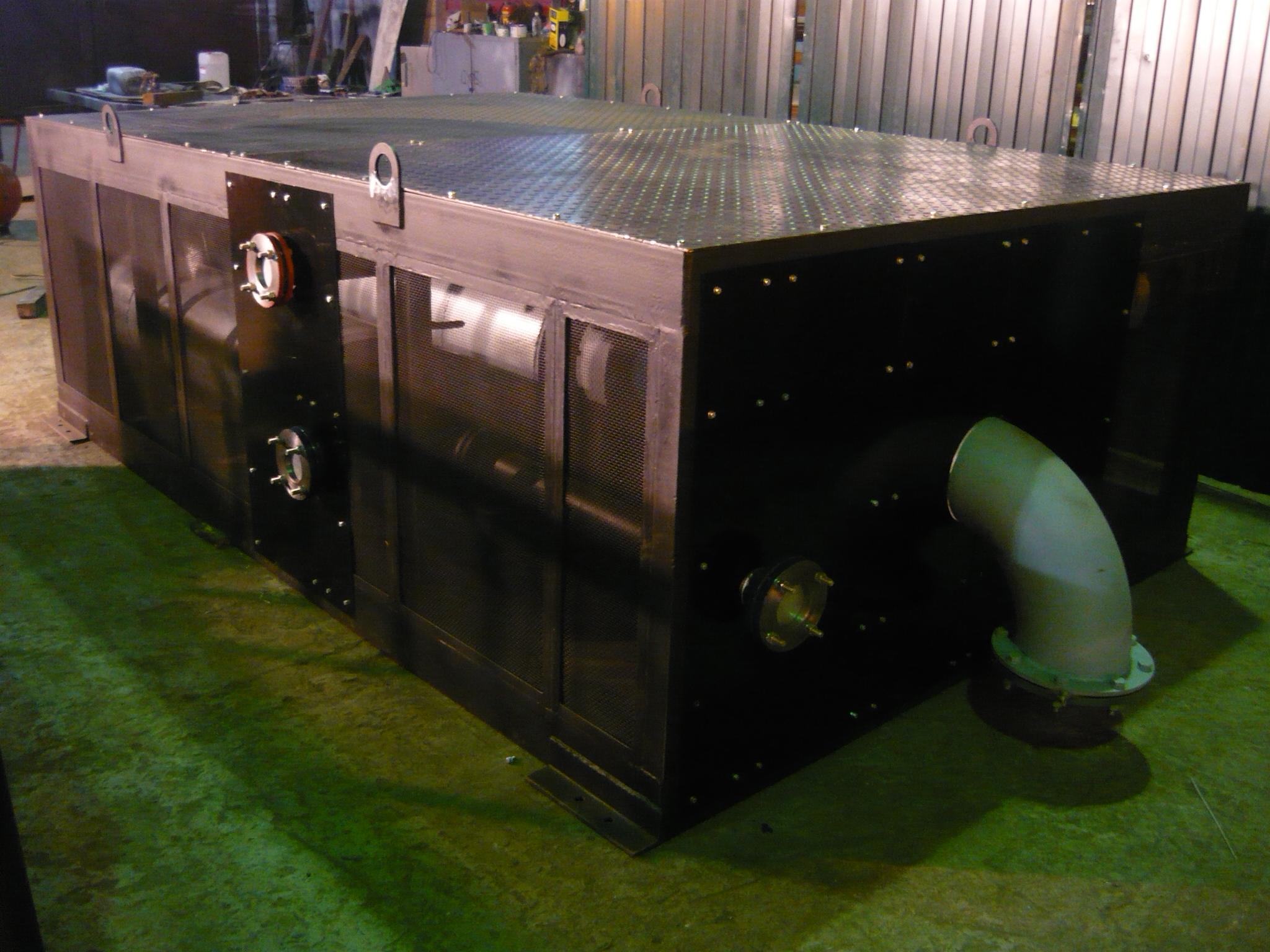 Когенерационные газопоршневые установки ГПУ 1200 кВт