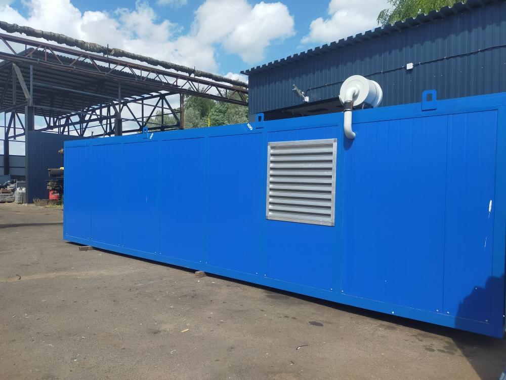 Газопоршневая электростанция 650 кВт (ГЭС-650 ЯМЗ) в блочно-контейнерном исполнении