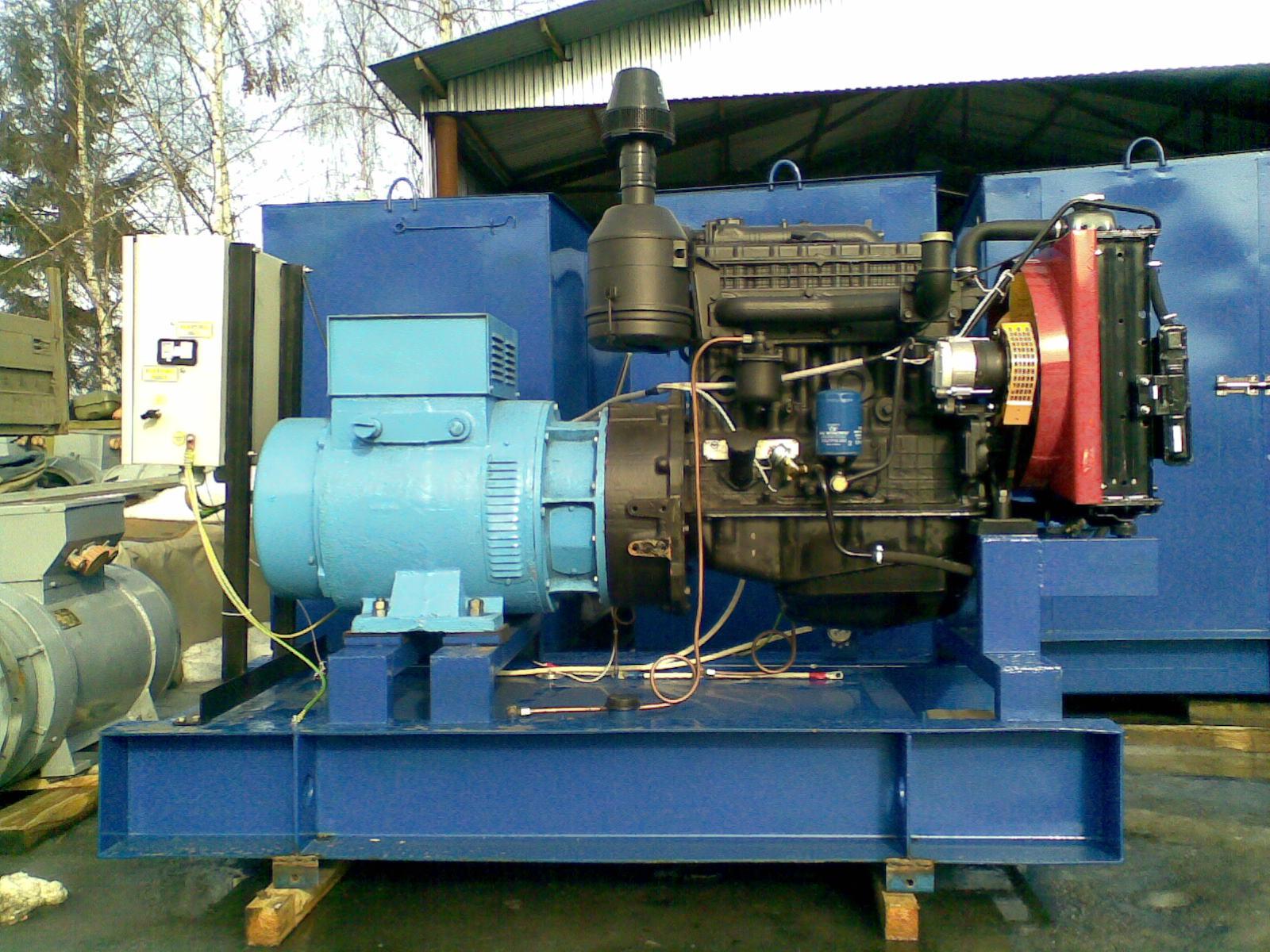 Дизельная электростанция 30 кВт (ММЗ Д-243)