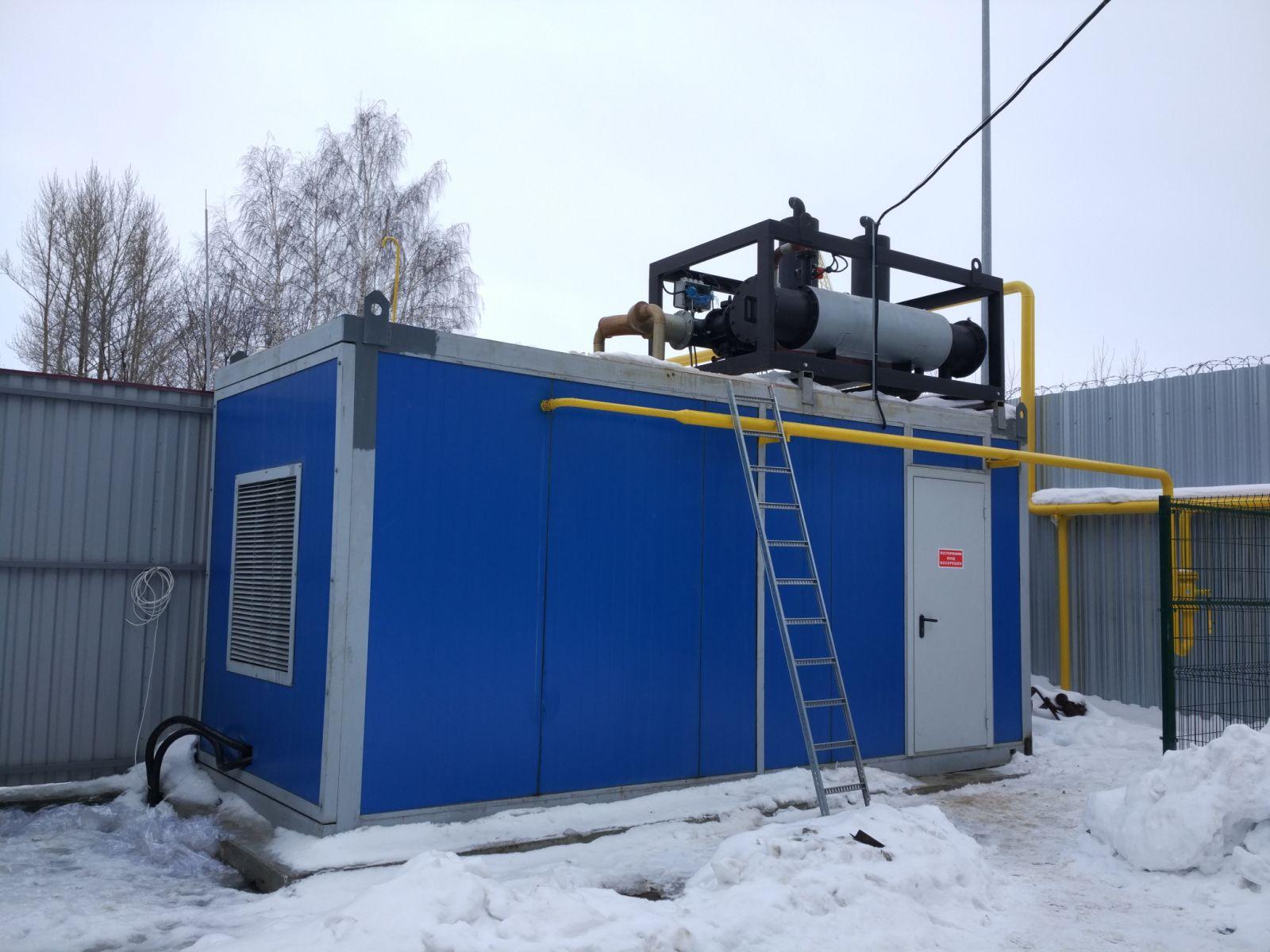 когенерационная установка 1200 квт (кгу-1200 Baudouin)