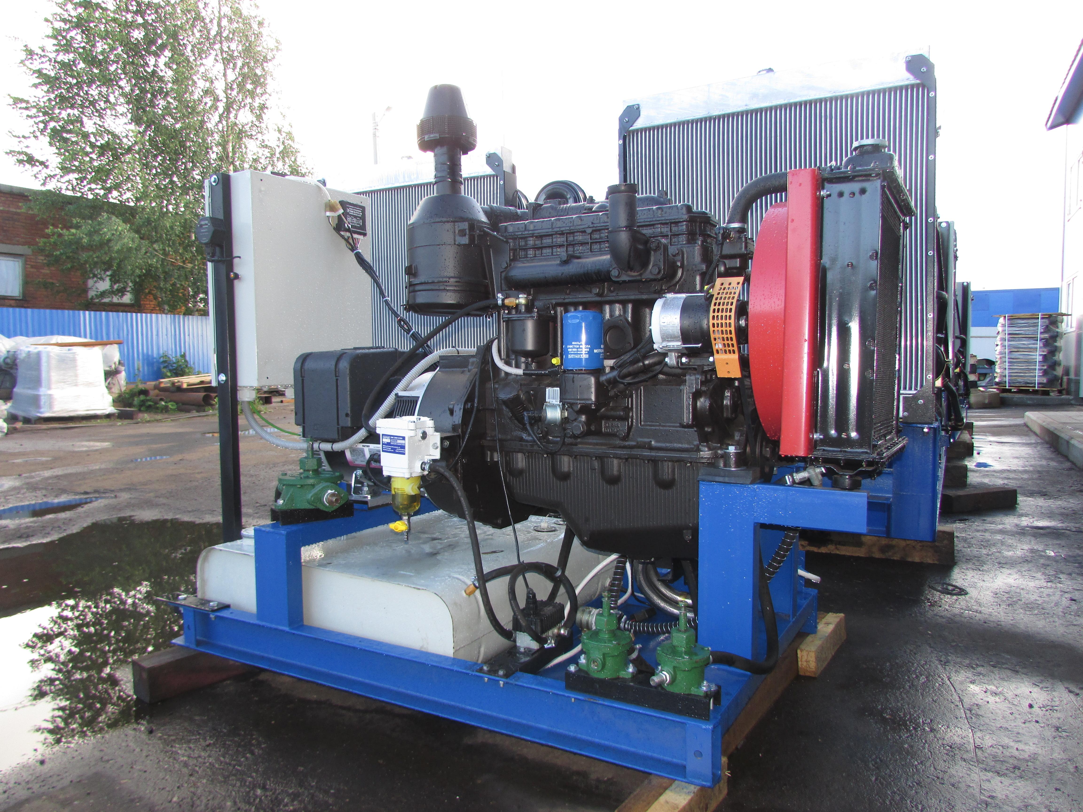 Электрогенератор 40 кВт (ММЗ Д-246)