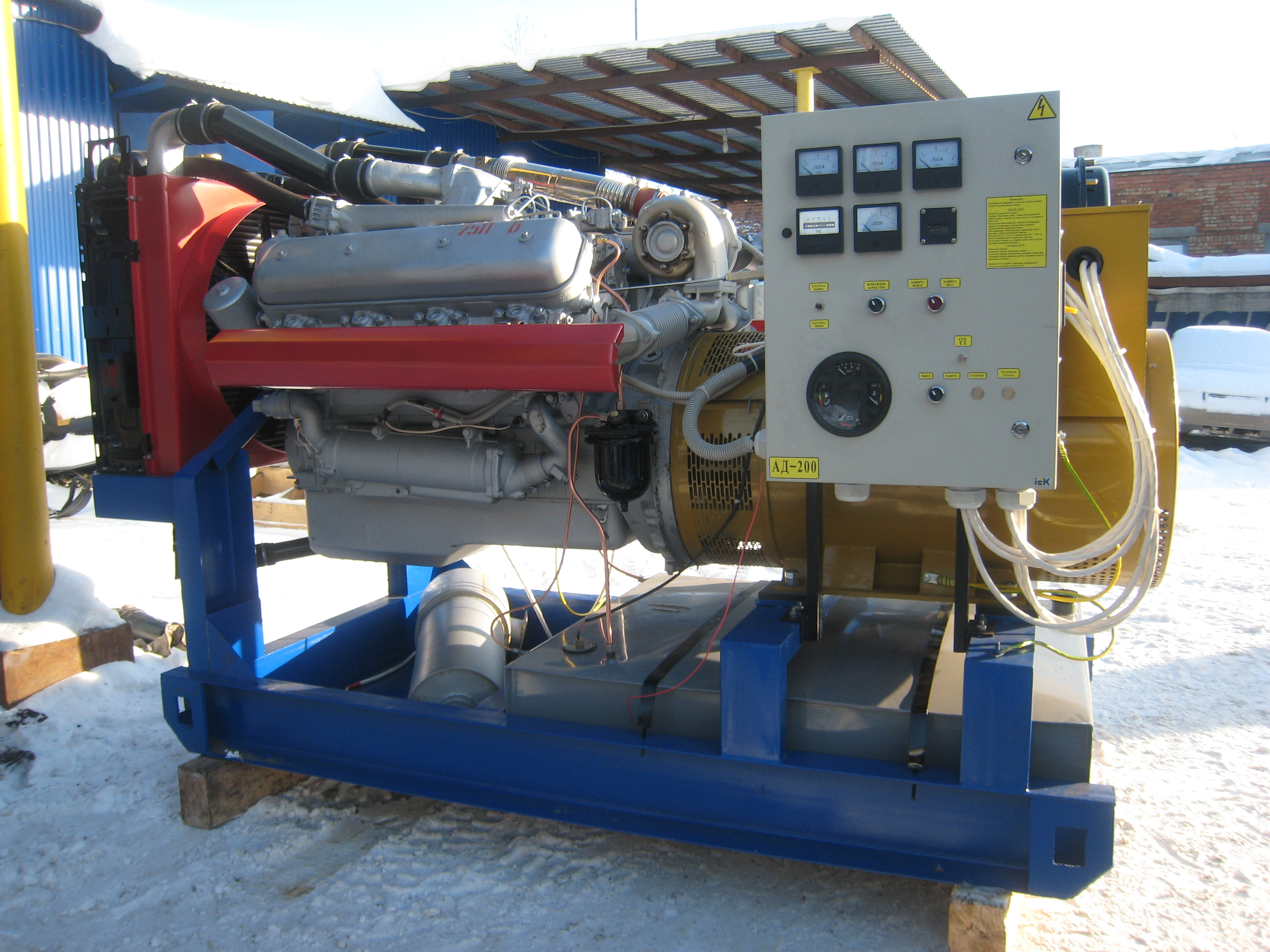 Дизельная электростанция 240 кВт (ЯМЗ-7514)
