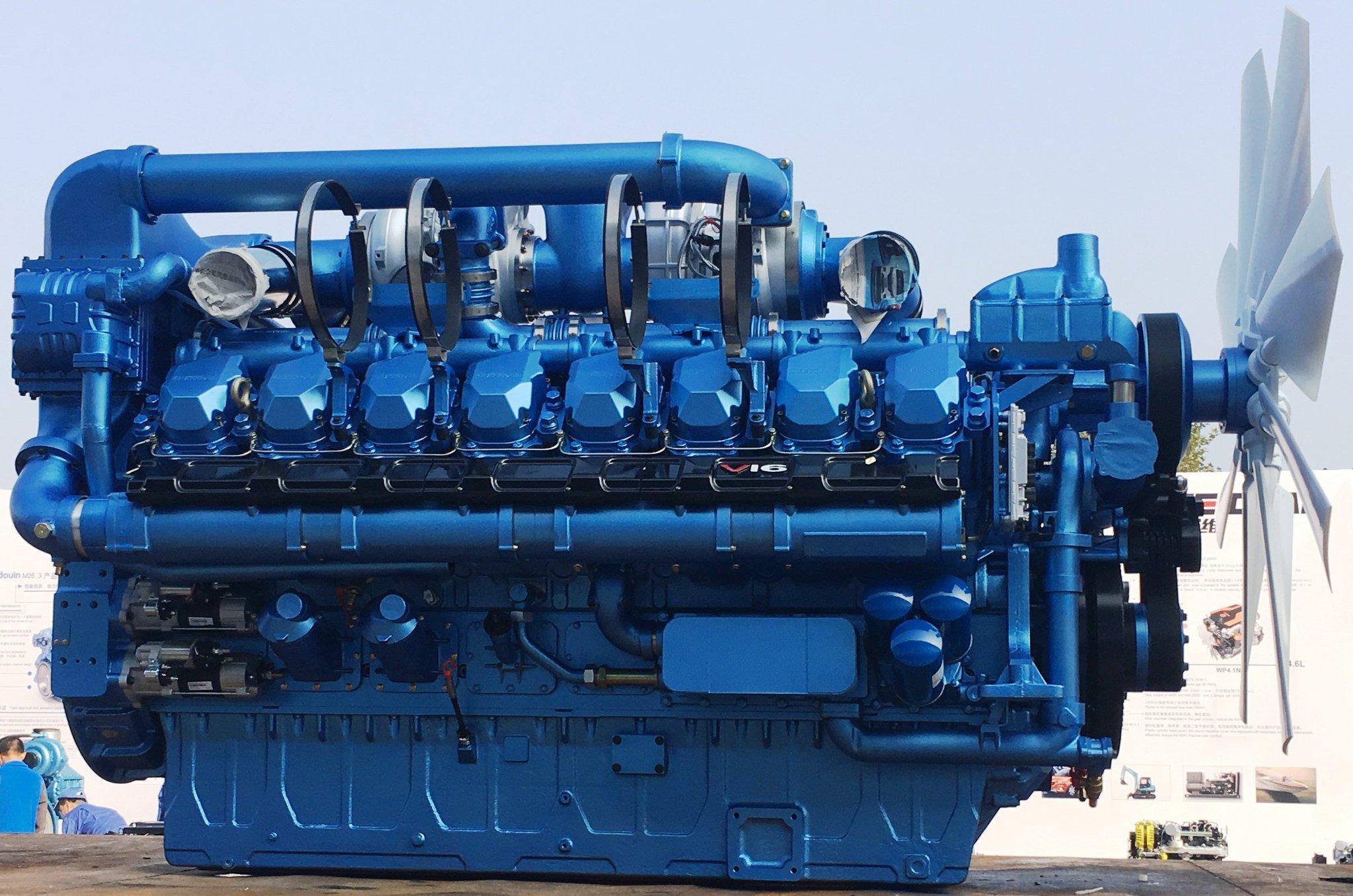 ГПУ 1200 кВт двигатель Baudouin 16М33