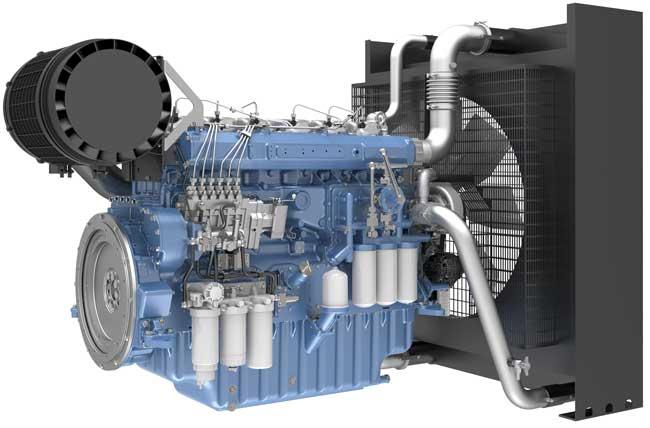 Газогенераторная установка 320 кВт Moteurs Baudouin 6M33