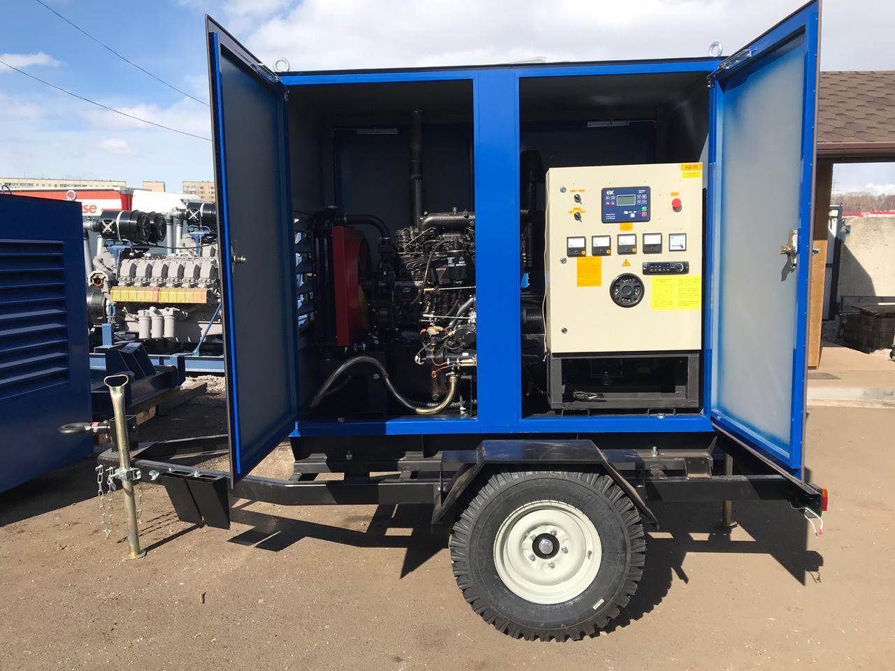 фото АД 30 передвижные электростанции 30 кВт