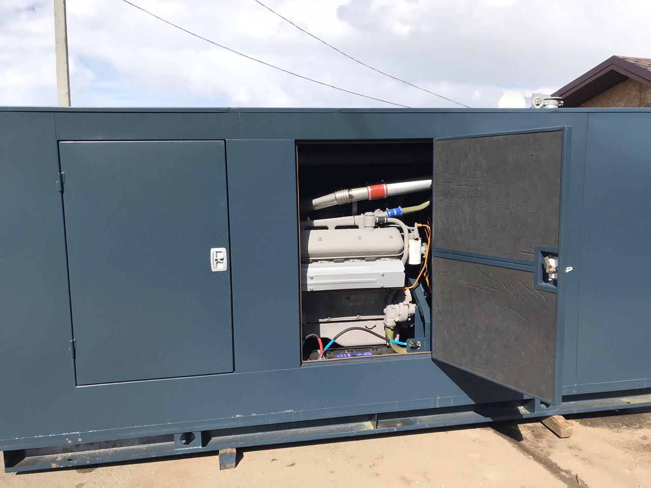 Дизельная электростанция 160 кВт в шумоизоляционном кожухе
