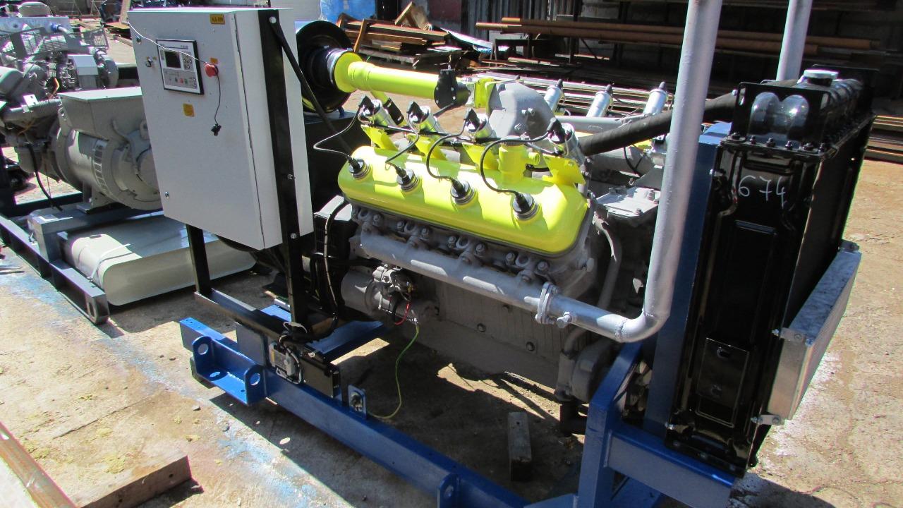 Газовый генератор 100 кВт