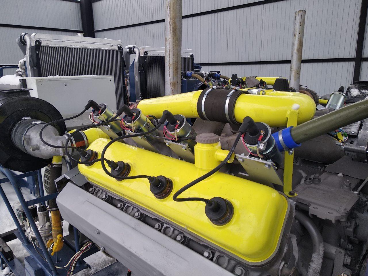 Газовый генератор 150 кВт