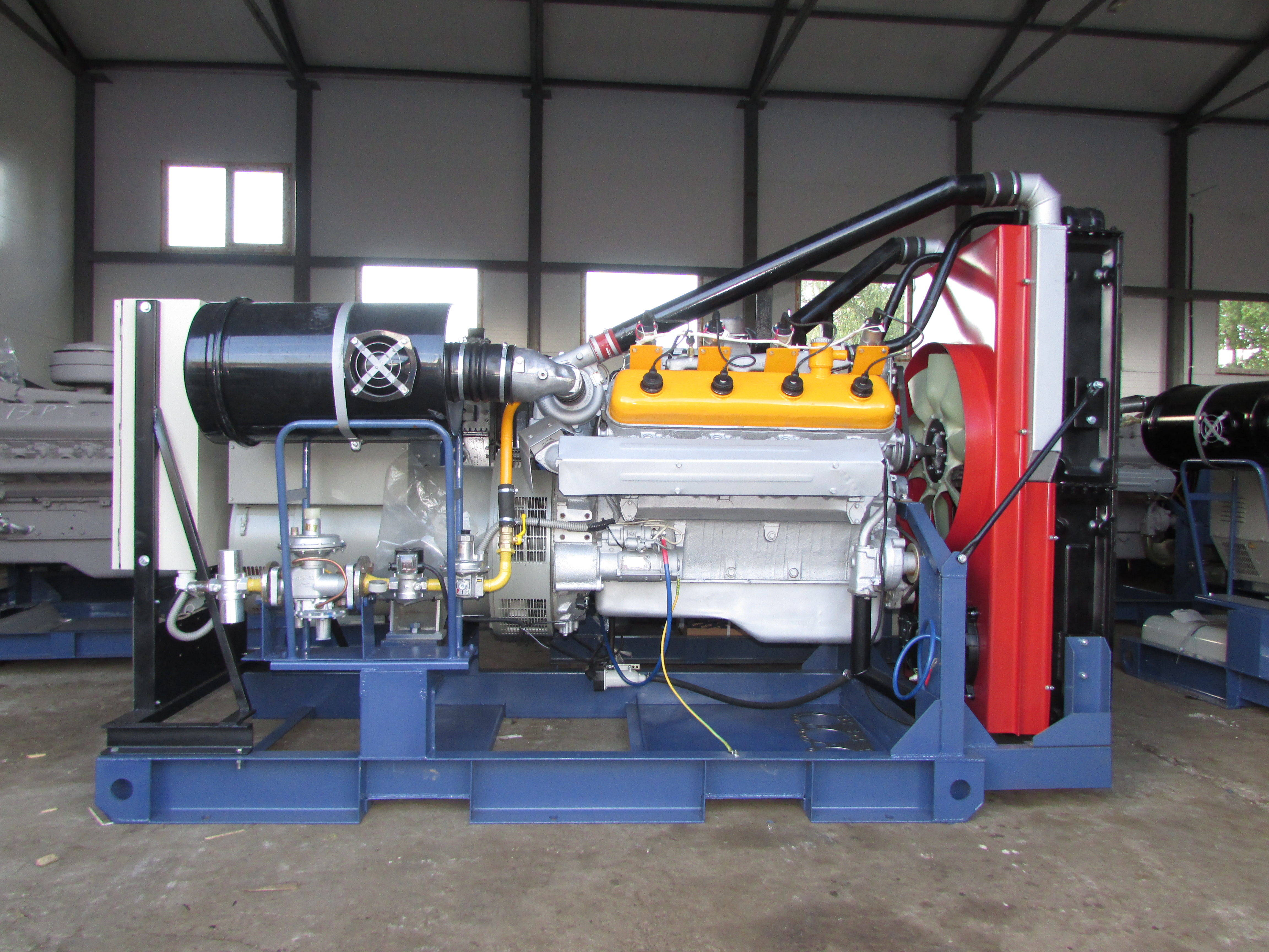 Газовый генератор 200 кВт