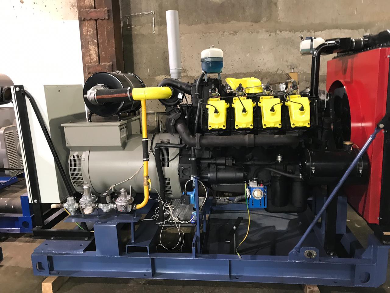Газовый генератор 250 кВт
