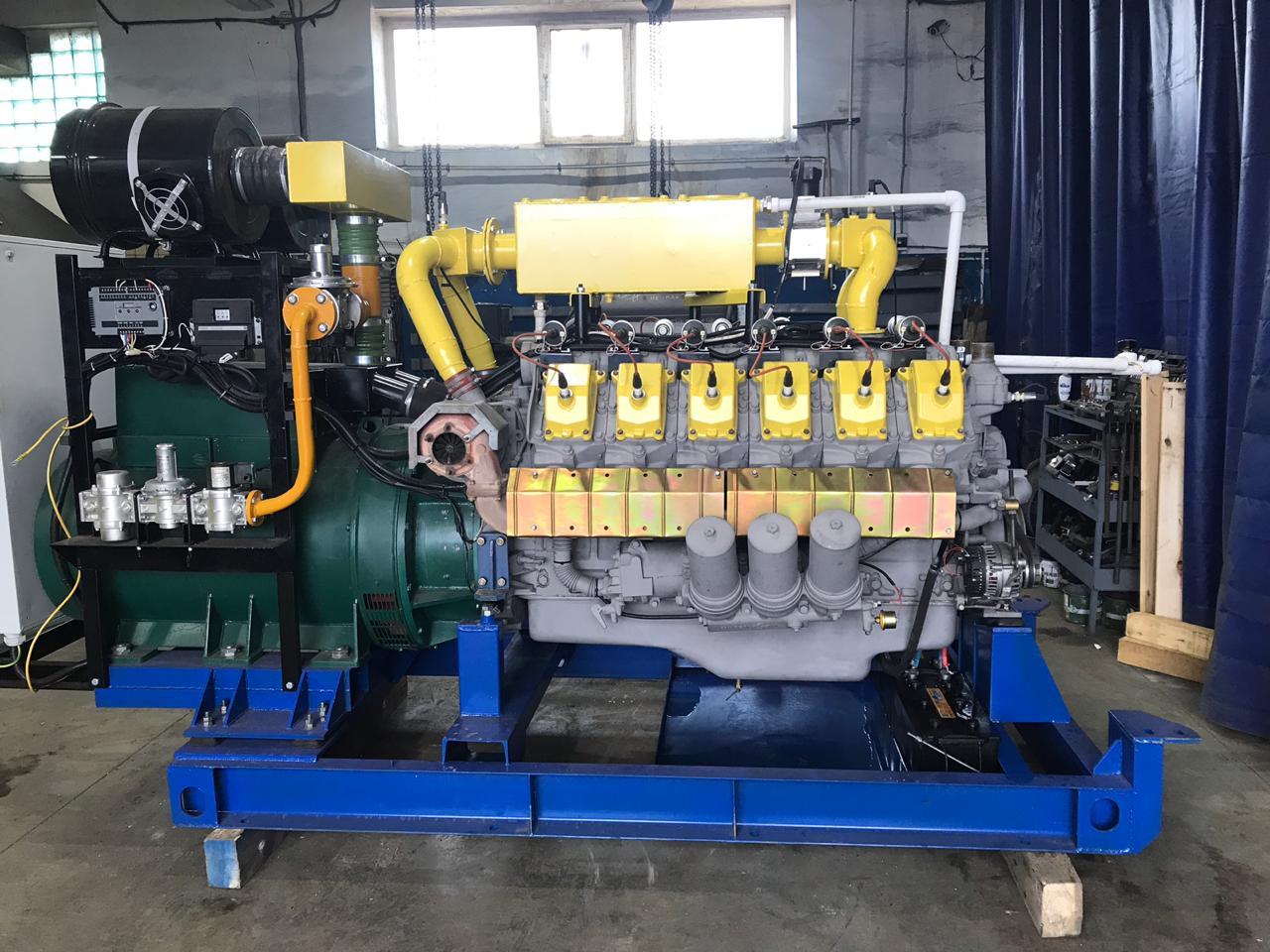 Газовый генератор 315 кВт