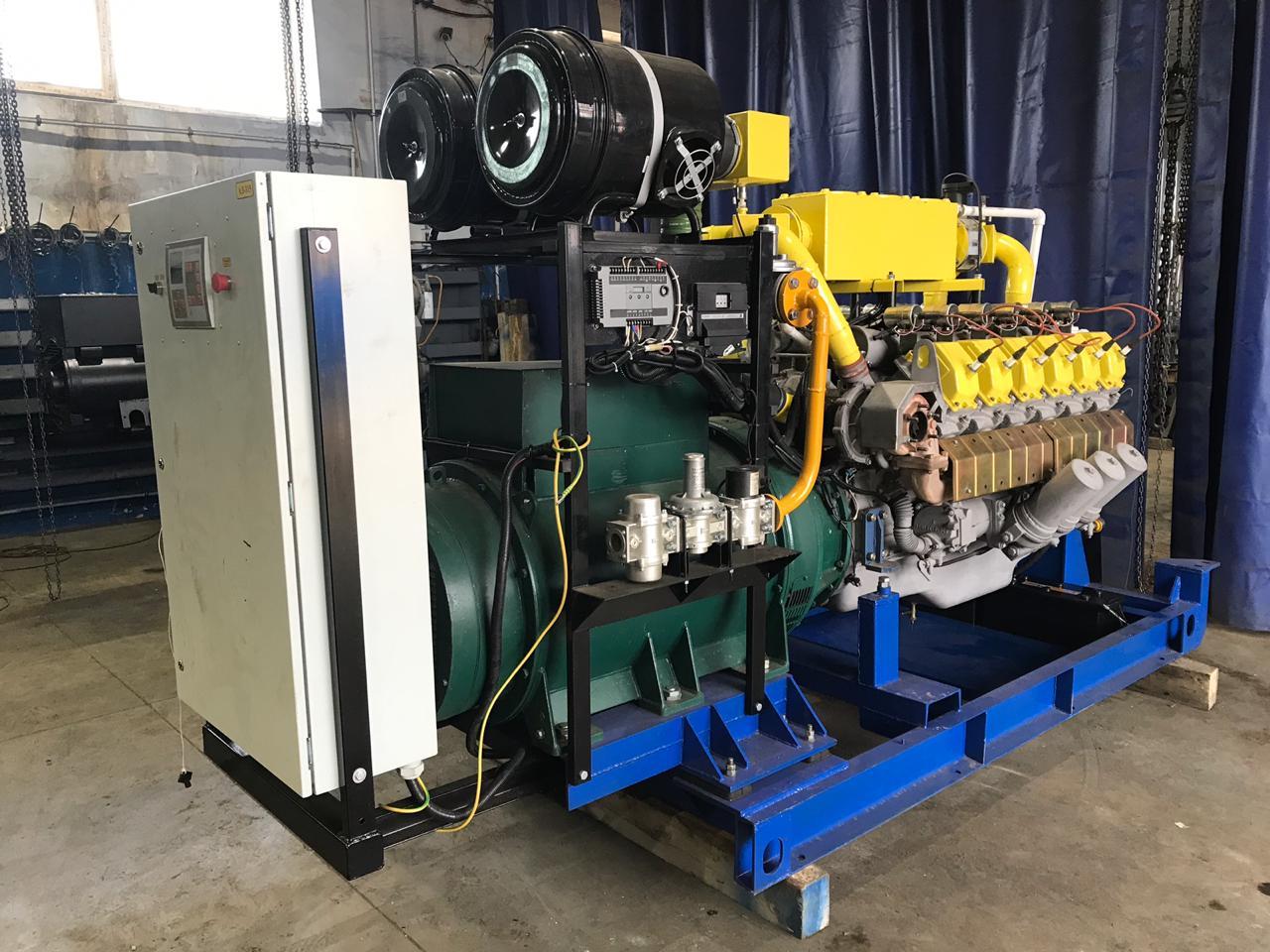 Газовый генератор 350 кВт