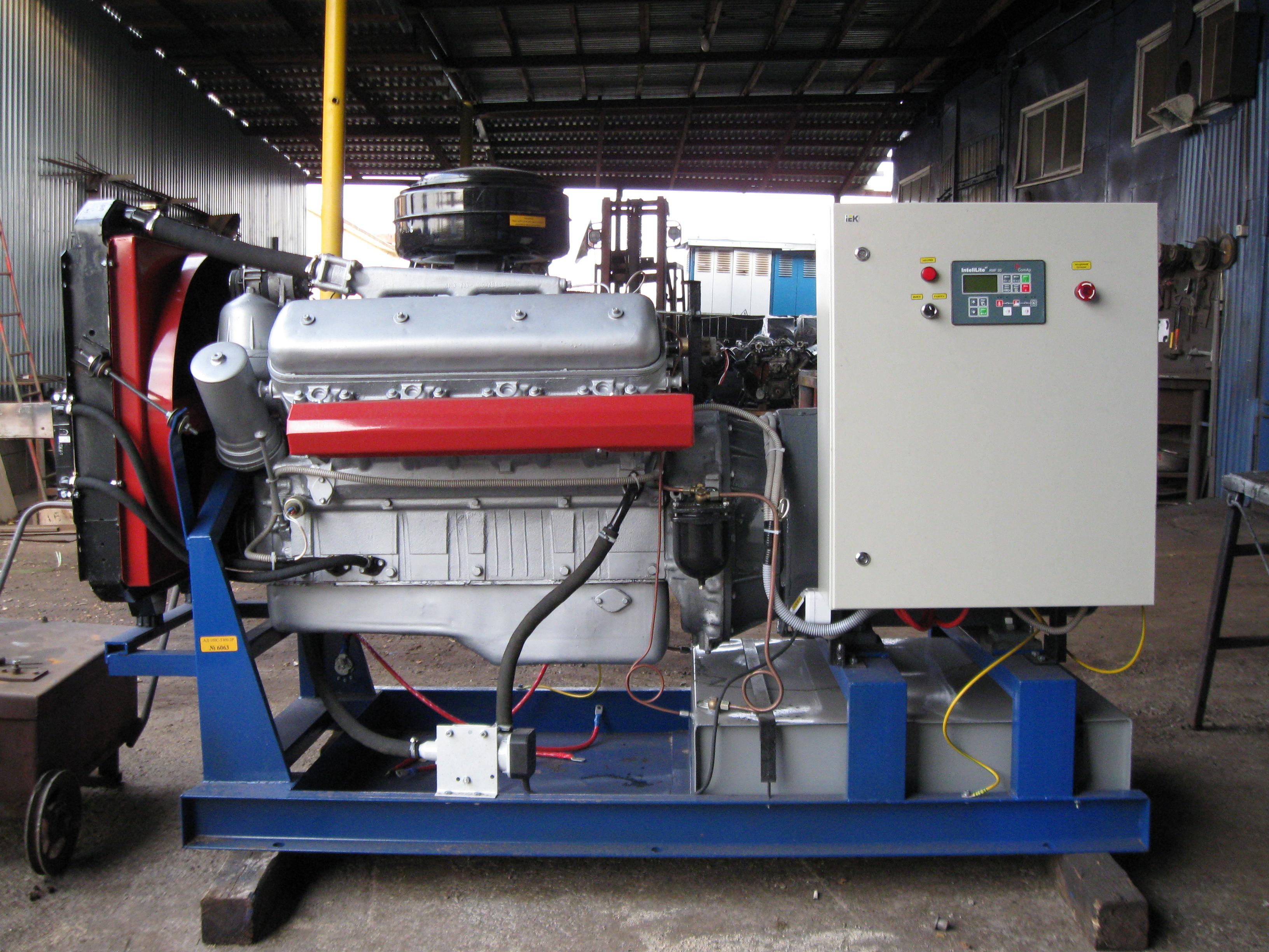 Электрогенератор 100 кВт (ЯМЗ 238)