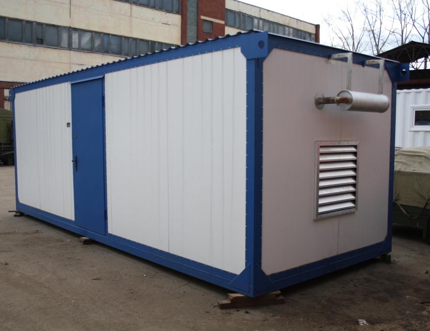 Газопоршневая электростанция АГП-315 БКИ (ЯМЗ-8503) в блок-боксе