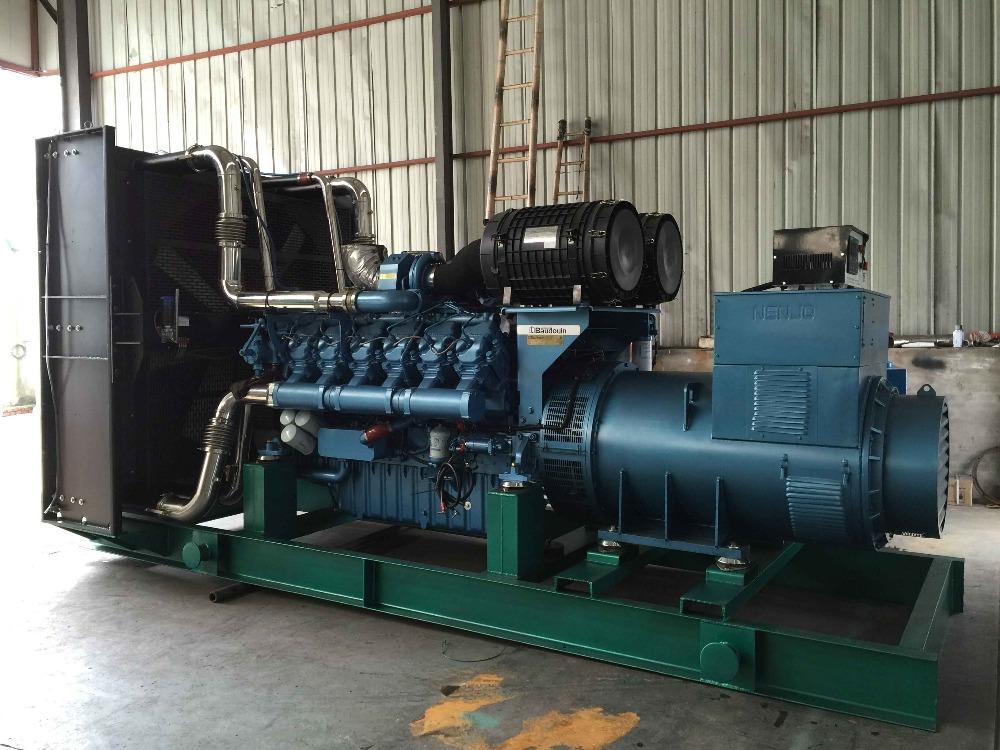 Газогенераторная установка 650 кВт Moteurs Baudouin 12М33NG