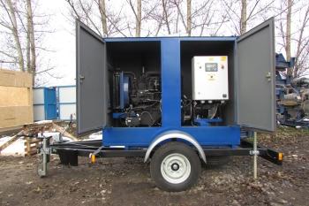 фото генератора в капотном исполнении