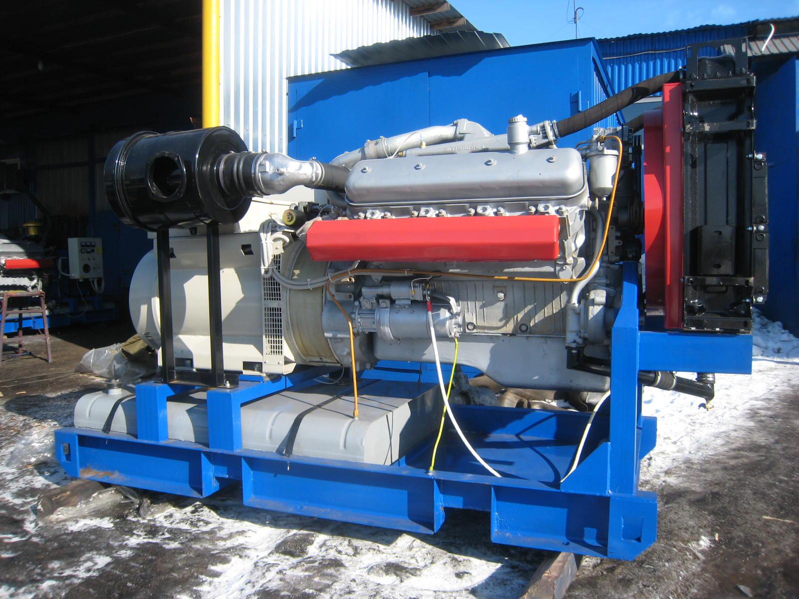 Дизельная электростанция 150 кВт (ЯМЗ-238ДИ)