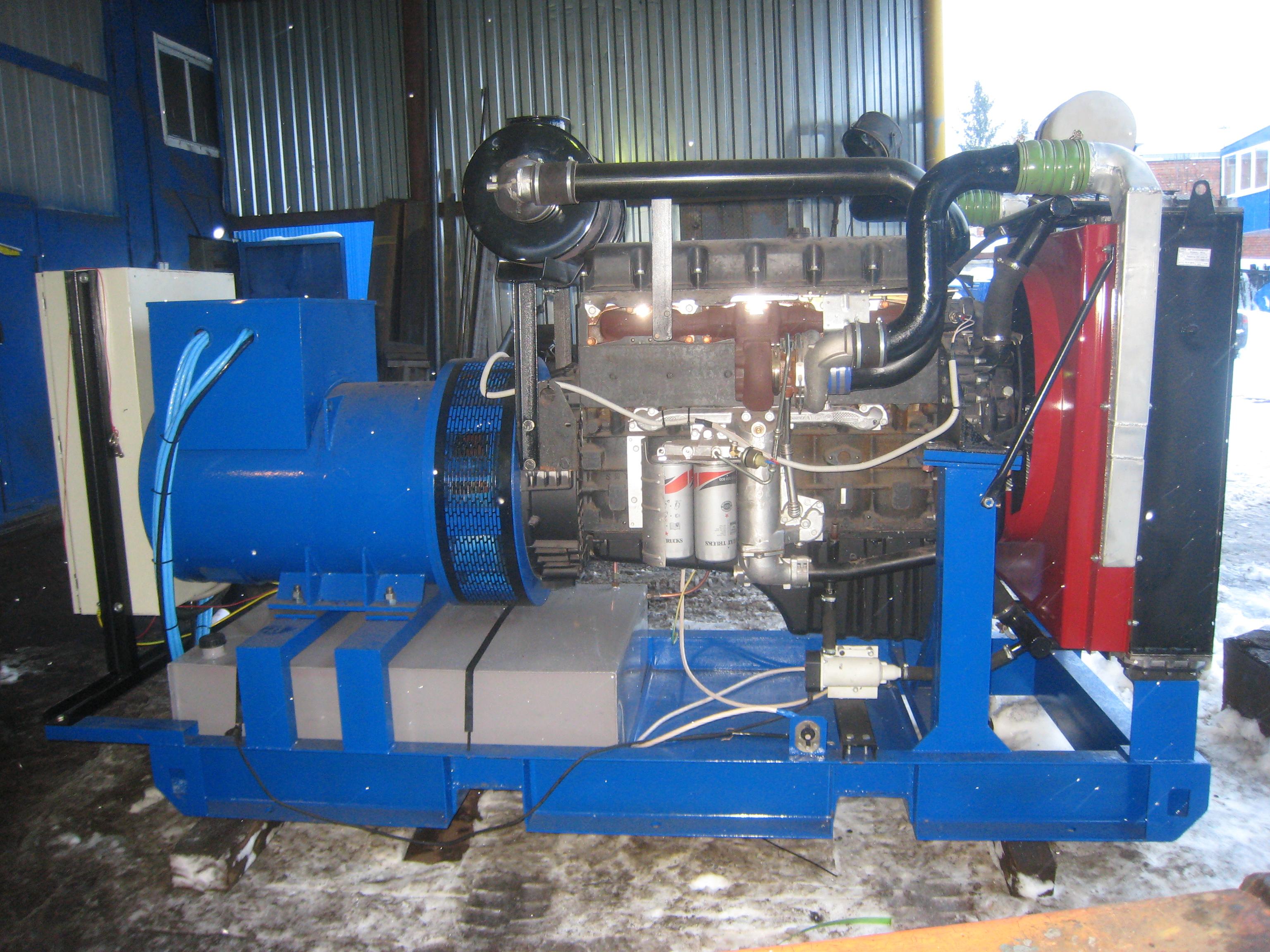 фото АД 250 на моторе ЯМЗ 6503.10